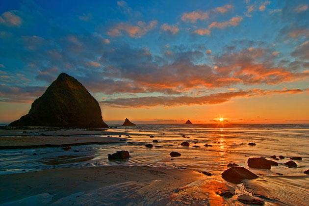 Arch Cape Sunset