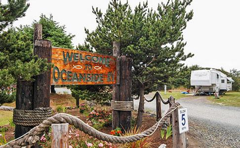 Coos Bay - Oceanside Beachfront RV Resort