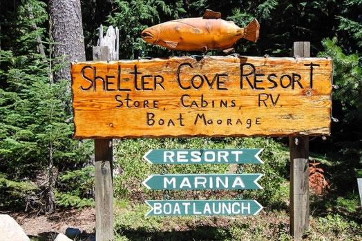 Crescent Lake - Shelter Cove Resort & Marina